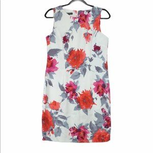 Mario Serani Floral Sleeveless Shift Dress